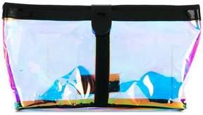 Maison Margiela refractive foil clutch