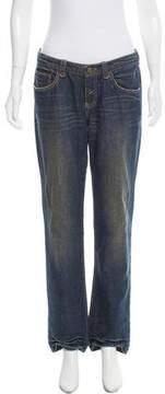 Tahari Mid-Rise Straight-Leg Jeans