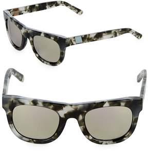 Westward Leaning Women's Pharoah 49MM Pepper Square Sunglasses