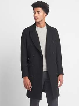 Gap Wool blend military coat