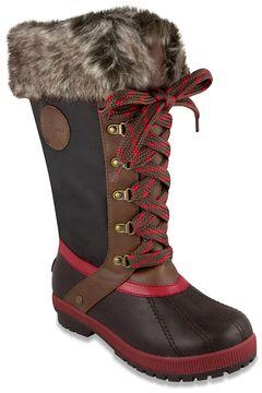 London Fog Melton 3 Women's Winter Duck Boots