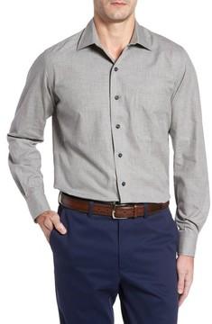 David Donahue Men's Regular Fit Sport Shirt