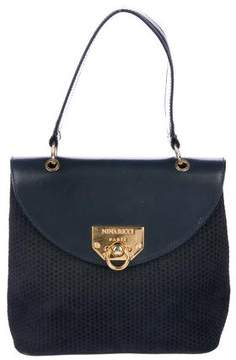 Nina Ricci Nubuck Handle Bag