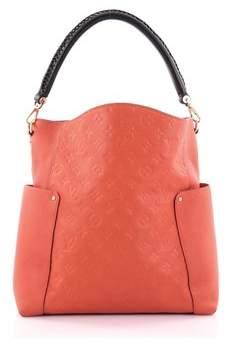 Louis Vuitton Pre-owned: Bagatelle Hobo Monogram Empreinte Leather. - ORANGE - STYLE