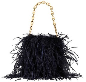 Tory Burch Feather Bag - NAVY BLUE - STYLE
