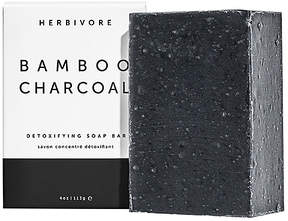 Herbivore Botanicals Bamboo Charcoal Cleansing Bar Soap in Beauty: NA.