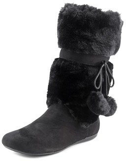 Report Emme Round Toe Suede Winter Boot.