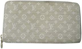 Louis Vuitton Zippy linen clutch - BEIGE - STYLE