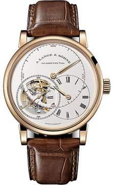 A. Lange & Söhne A. Lange and Sohne Richard Lange Tourbillon 760.032 18K Rose Gold / Leather 41.9mm Mens Watch