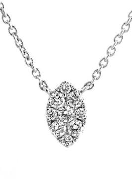 Bony Levy Women's Mini Marquise Pave Diamond Pendant Necklace (Nordstrom Exclusive)