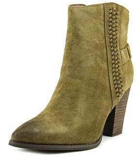 Very Volatile Preston Pointed Toe Suede Ankle Boot.