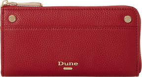 Dune Slim zip-around faux-leather purse