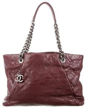 Chanel Quilted Coco Pleats Tote