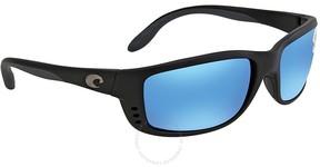 Costa del Mar Zane Blue Mirror Wrap Sunglasses ZN 11 OBMGLP