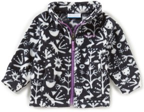 Columbia Baby Girls 3-24 Months Benton Springs II Printed Fleece Jacket