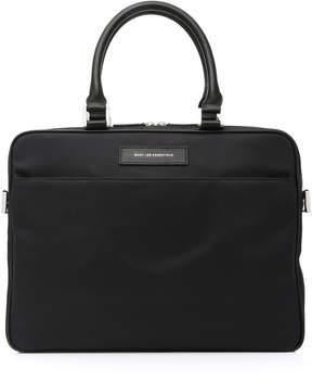 WANT Les Essentiels Haneda Leather-Trimmed Nylon Computer Bag