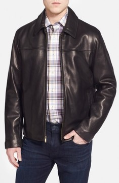 Cole Haan Men's Lambskin Leather Jacket