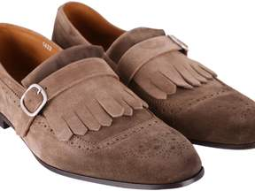 Doucal's Light Point Leather Loafers