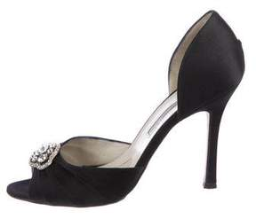 Brian Atwood Lily Embellished Pumps