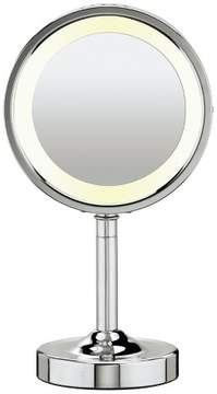Conair Double-Sided Lighted Makeup Mirror with 5X Magnification
