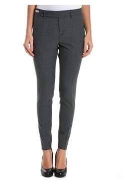 Berwich Women's Grey Polyester Pants.