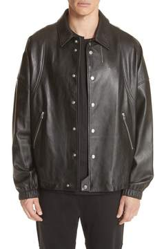 Helmut Lang Leather Coach's Jacket