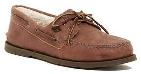 Sperry Authentic Original Faux Shearling Lined 2-Eye Boat Shoe