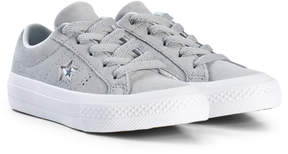 Converse Grey One Star OX Junior Trainers