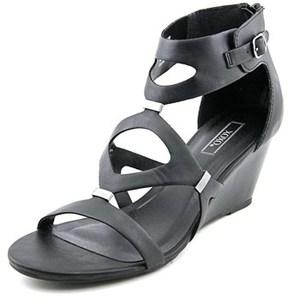 XOXO Sees Women Open Toe Synthetic Wedge Sandal.