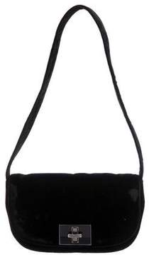 Max Mara Velvet Shoulder Bag