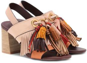 See by Chloe Tasselled leather sandals