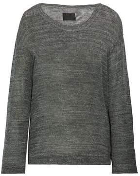 RtA Cotton Waffle-Knit Sweater
