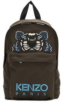 Kenzo Men's Brown Polyester Backpack.
