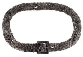 Chanel Chain-Link Buckle Belt