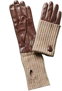 Portolano Kenya Roast Leather Gloves
