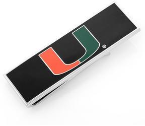 Ice University of Miami Hurricanes Money Clip
