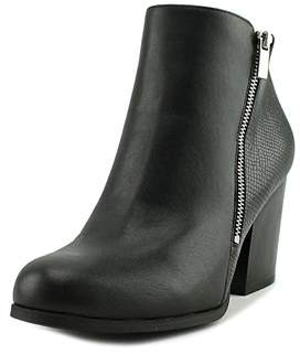 Bar III Pieta Women Round Toe Synthetic Black Bootie.
