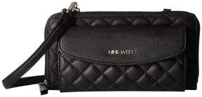 Nine West Lucie Small Leather Goods Wallet on Chain Wallet Handbags