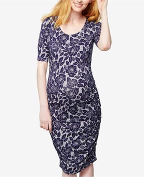 A Pea in the Pod Maternity Sheath Dress