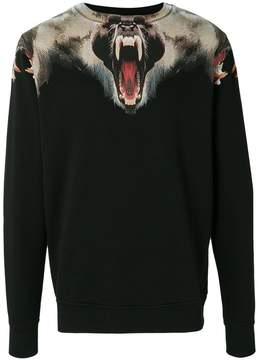 Marcelo Burlon County of Milan print long-sleeve sweatshirt