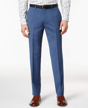Bar III Men's Dusty Blue Solid Slim-Fit Pants, Created for Macy's
