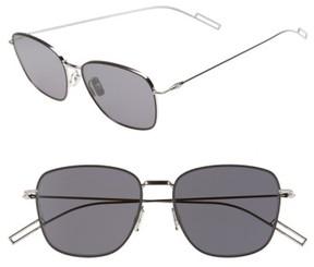 Christian Dior Men's 'Composit 1.1S' 54Mm Metal Sunglasses - Black Palladium/ Dark Grey