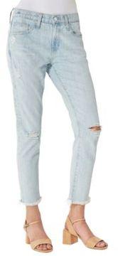 Big Star Billie Slim-Fit Distressed Boyfriend Jeans