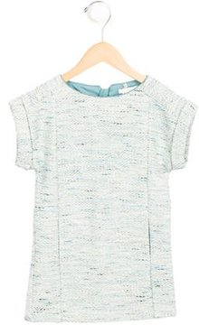 Chloé Girls' Tweed Metallic-Accented Dress w/ Tags