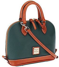 Dooney & Bourke As Is Pebble Leather Bitsy Bag - ONE COLOR - STYLE