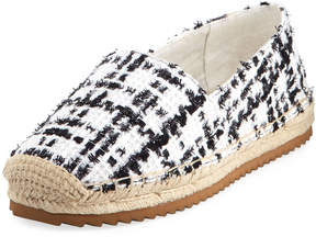 Karl Lagerfeld Paris Alexa7 Fabric Espadrille Slip-On Flat