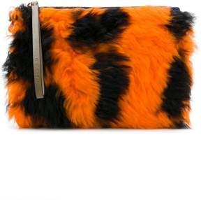 Marni shearling pouch bag