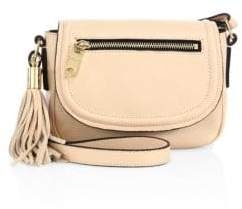 Milly Astor Small Leather Saddle Bag