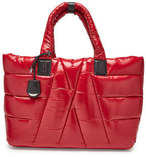 Moncler Powder Tote with Leather Details