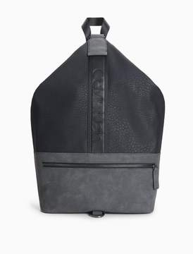 Calvin Klein pebble draped backpack